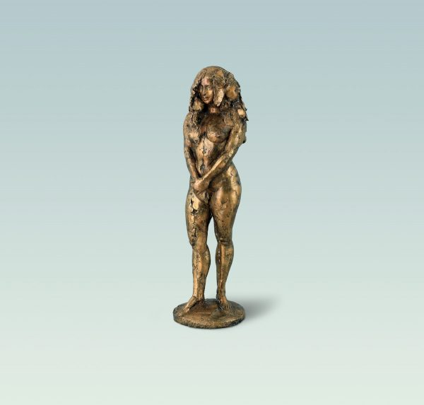 Amber, Aktskulptur, skulptur, Bronze