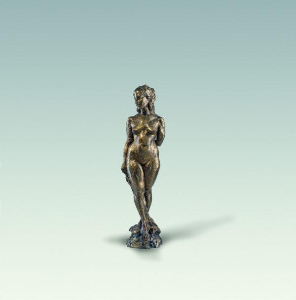 Christine, Aktskulptur, skulptur, Bronze