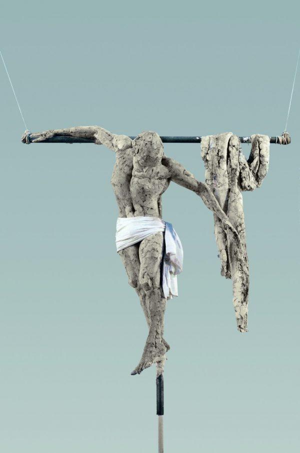 Christus, skulptur, Stuck
