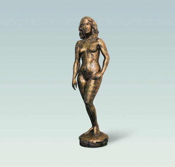 Dorina, Aktskulptur, skulptur, Bronze
