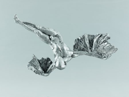 Ikarus, Aktskulptur, skulptur, Bronze